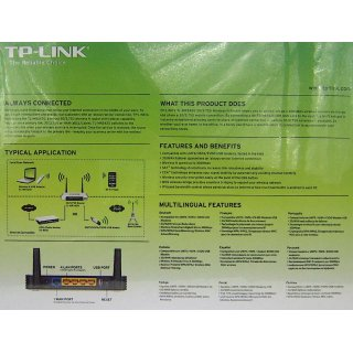 TP-Link TL-MR3420 WLan Router 300/4P/3G